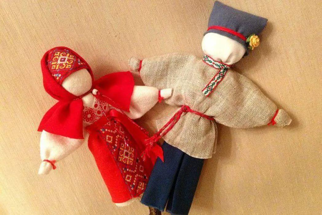 Мастер - класс для детей по народной кукле