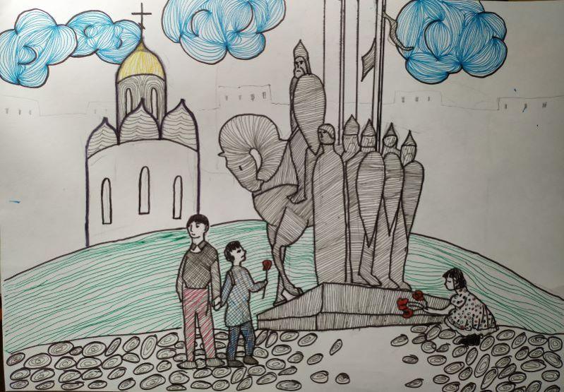 Конкурс детского рисунка «Преданья старины глубокой» к 800-летию Александра Невского