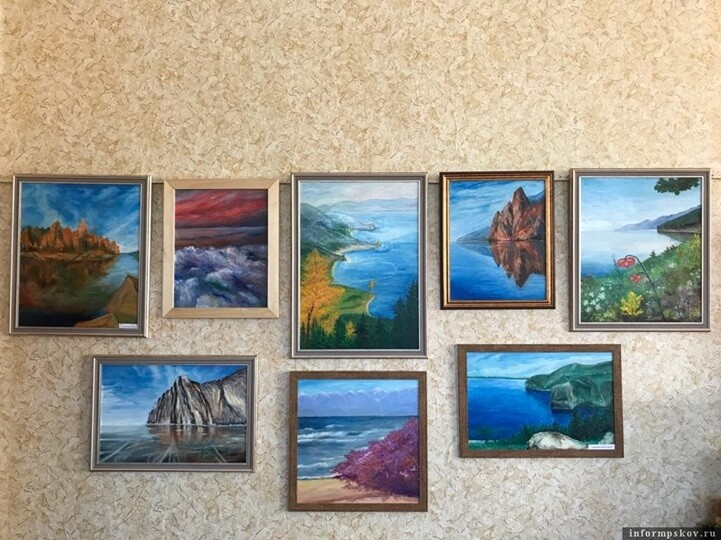 Выставка картин о Байкале открылась в Кунье