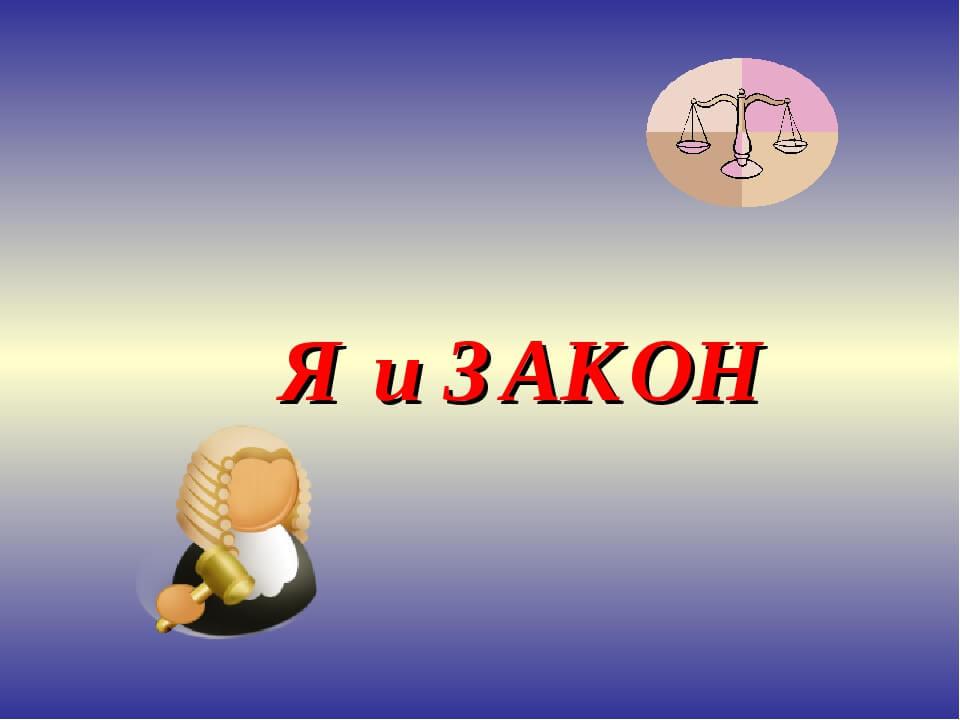 Не преступи закон, Познавательный час
