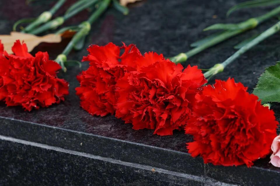 Торжественное возложение цветов к памятникам павших воинов, в день 80-летия начала войны.
