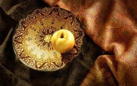 Яблочко наливное. Тематическая программа для детей